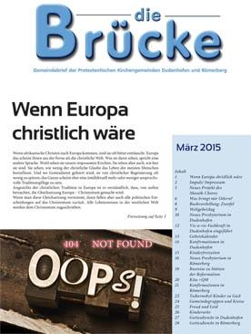 Brücke März 2015-Titel